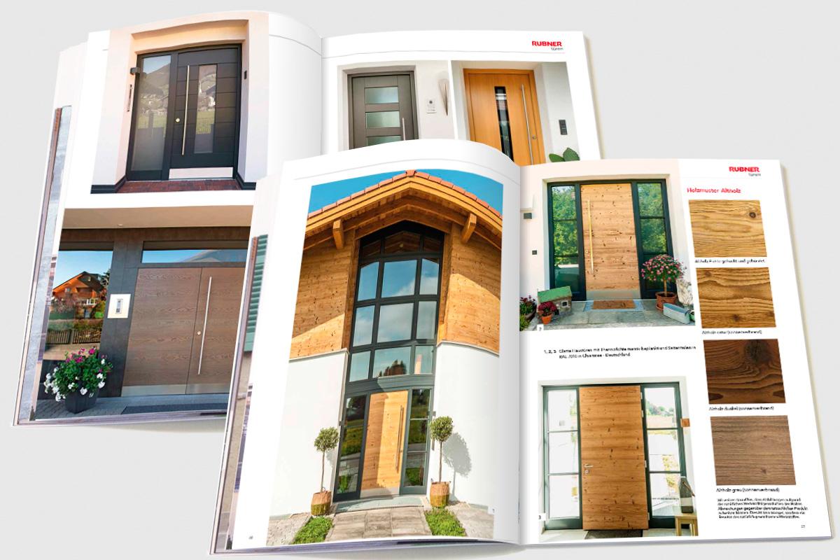 rubner t ren ag terrabona werbung kommunikation. Black Bedroom Furniture Sets. Home Design Ideas