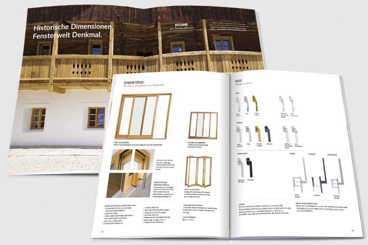 Tecno Fenster Srl - TERRABONA comunicazione | graphic, photo ...