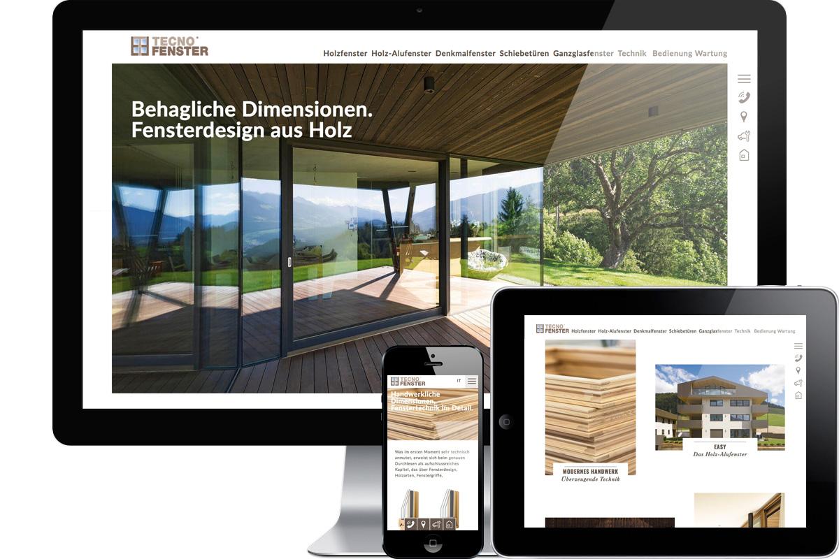 TEcno Fenster srl - TERRABONA comunicazione   graphic, photo ...